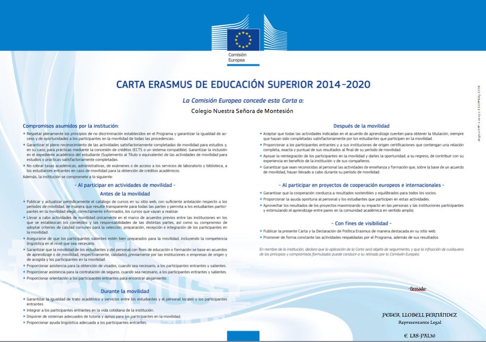 Cartaerasmus2014-2020